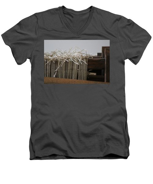 The Tales We Weave In Sepia Photograph Men's V-Neck T-Shirt