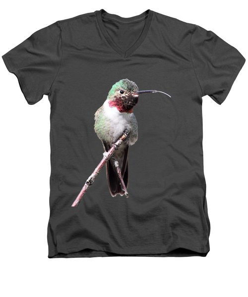 Men's V-Neck T-Shirt featuring the photograph The Taste Of Air by Shane Bechler