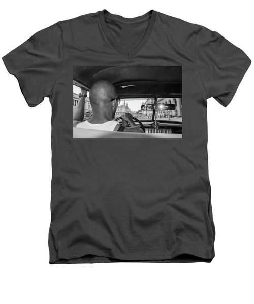 From The Taxi Men's V-Neck T-Shirt