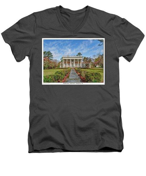 The Tisdale Manor Men's V-Neck T-Shirt
