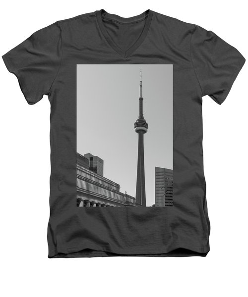 The Tower Men's V-Neck T-Shirt