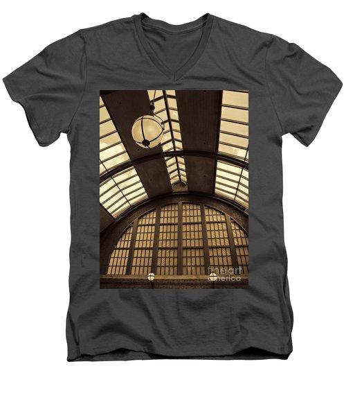 The Train Station Men's V-Neck T-Shirt