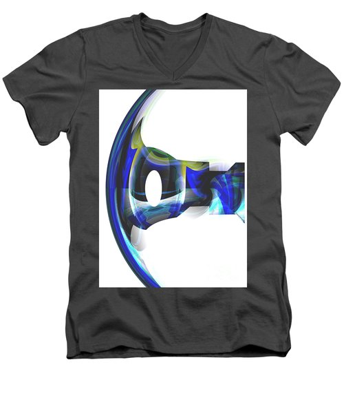 The Transparency Bow Men's V-Neck T-Shirt by Thibault Toussaint