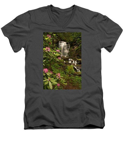 The Tropics Of North Carolina Men's V-Neck T-Shirt