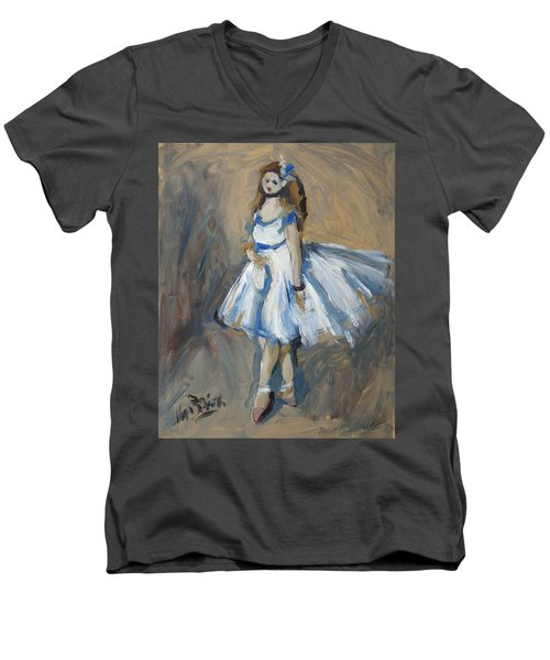 The Truth Lies Between Aguste Renoir And Marlene Dumas Men's V-Neck T-Shirt