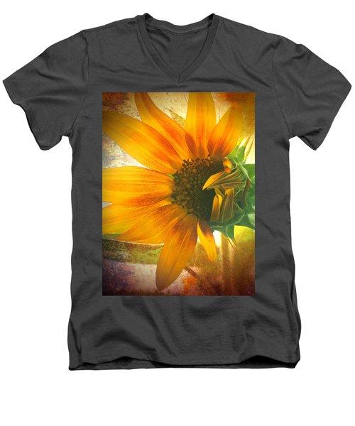 The Truth-teller Men's V-Neck T-Shirt by Tara Turner