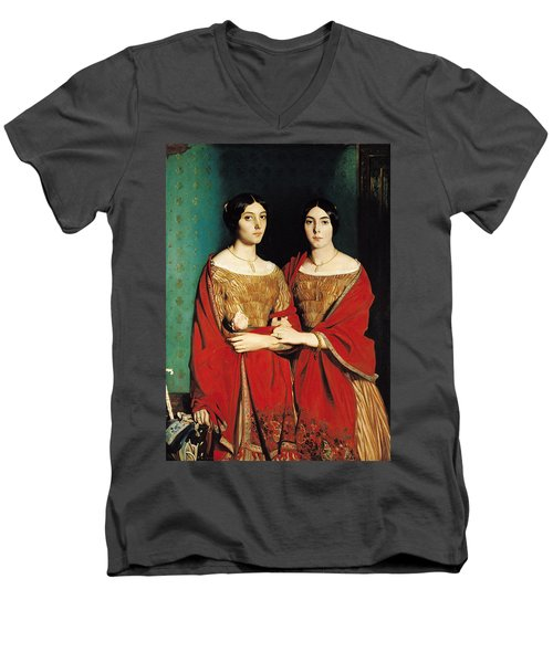 The Two Sisters Men's V-Neck T-Shirt