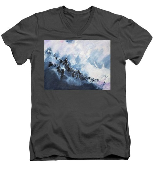 The Universe In Part 1 Men's V-Neck T-Shirt