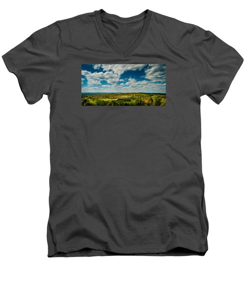The Valley Men's V-Neck T-Shirt