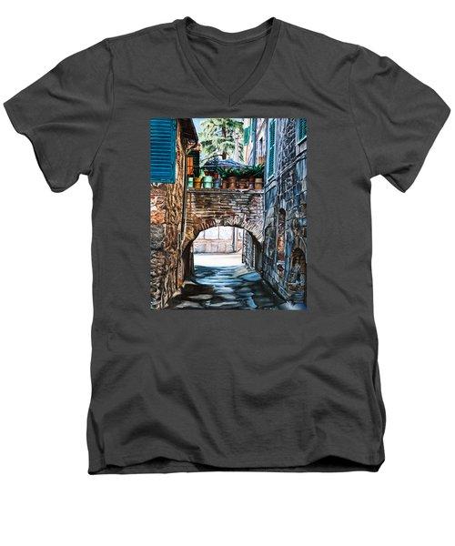 The Vase Arch Men's V-Neck T-Shirt