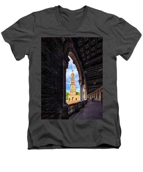 The View Again. Men's V-Neck T-Shirt