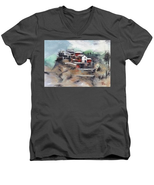 The Village Men's V-Neck T-Shirt