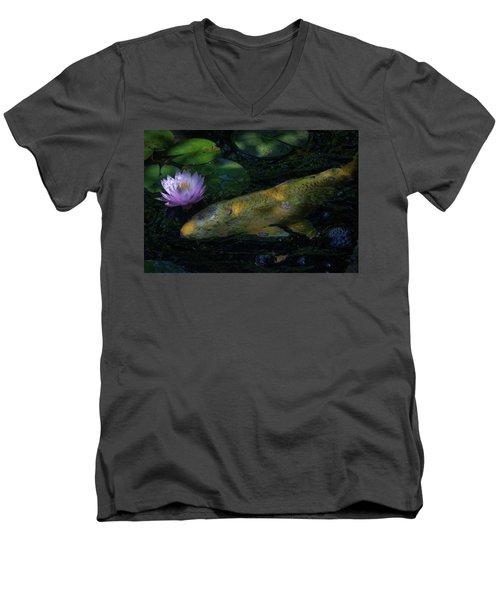 The Visitor Men's V-Neck T-Shirt