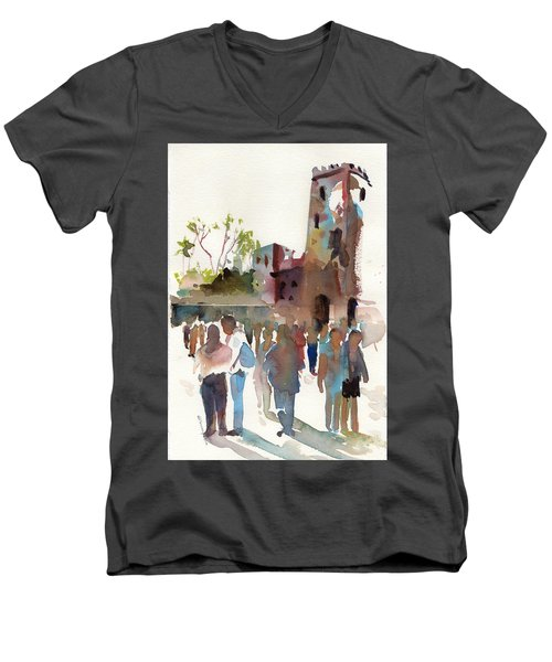 The Visitors Men's V-Neck T-Shirt