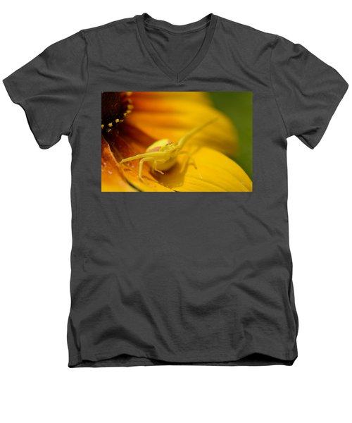 The Wait Men's V-Neck T-Shirt by Janet Rockburn