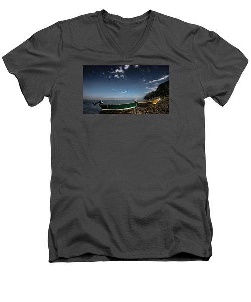 The Wait Men's V-Neck T-Shirt