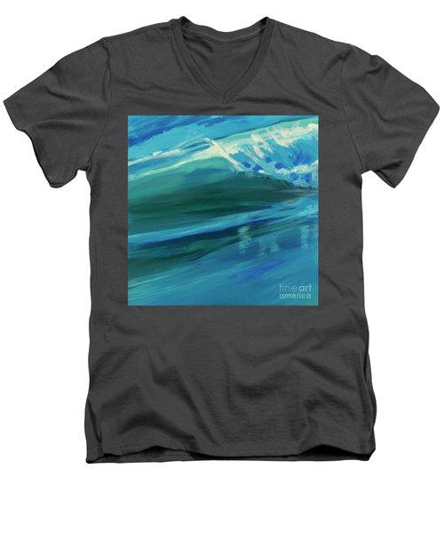 The Wake Men's V-Neck T-Shirt