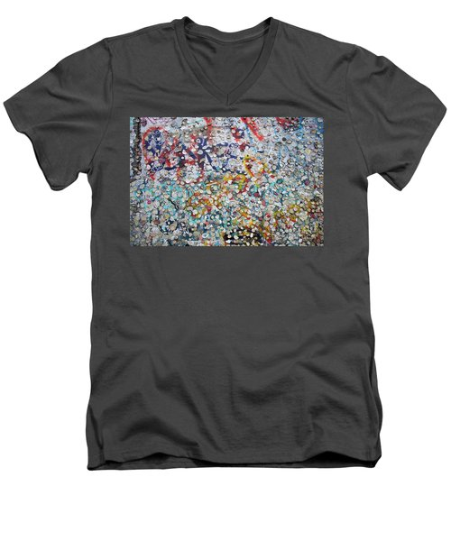 The Wall #2 Men's V-Neck T-Shirt