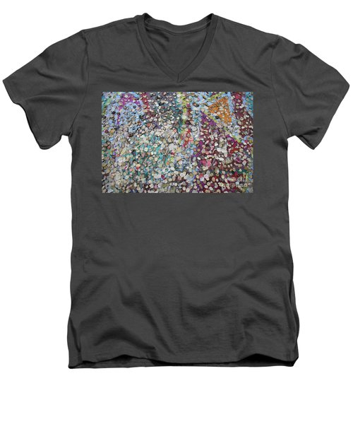 The Wall #4 Men's V-Neck T-Shirt