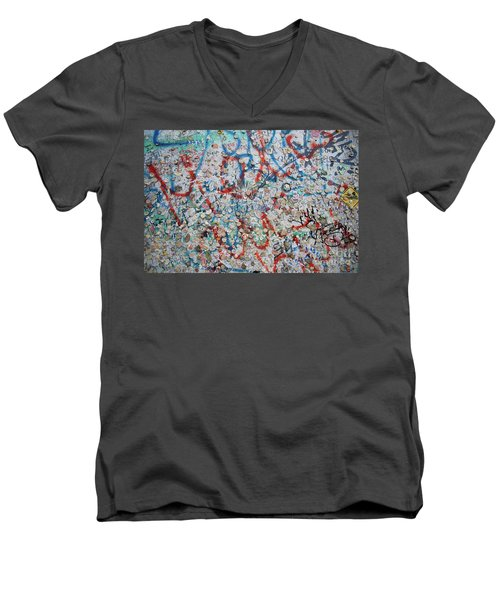 The Wall #7 Men's V-Neck T-Shirt