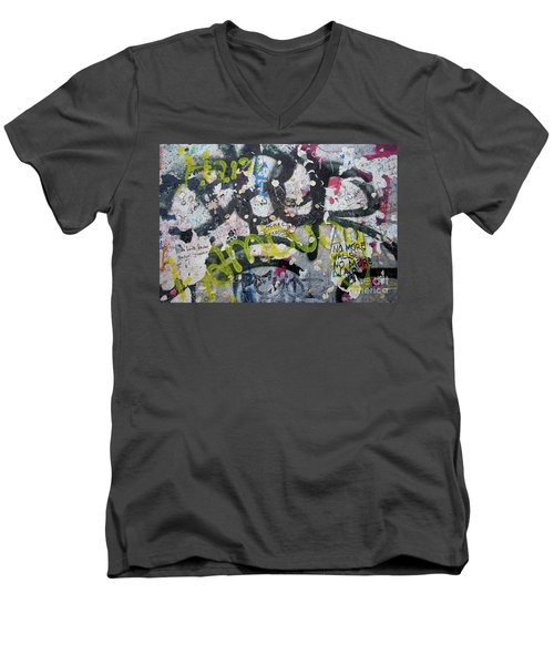 The Wall #9 Men's V-Neck T-Shirt