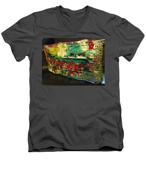 The Wall Proposed Men's V-Neck T-Shirt