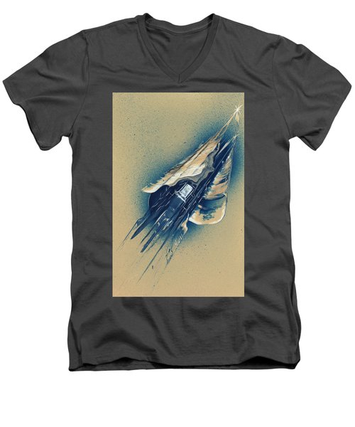 The Watchtower Men's V-Neck T-Shirt