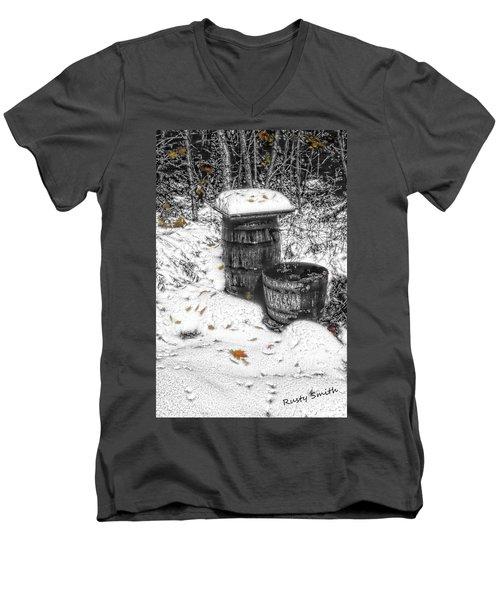 The Water Barrel Men's V-Neck T-Shirt