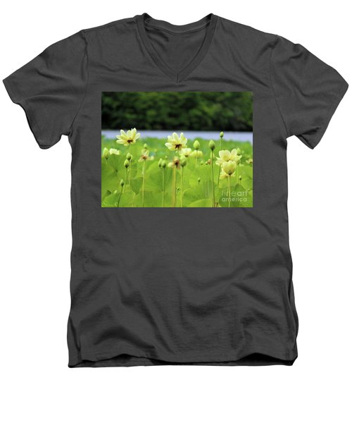 The Water Fields  Men's V-Neck T-Shirt