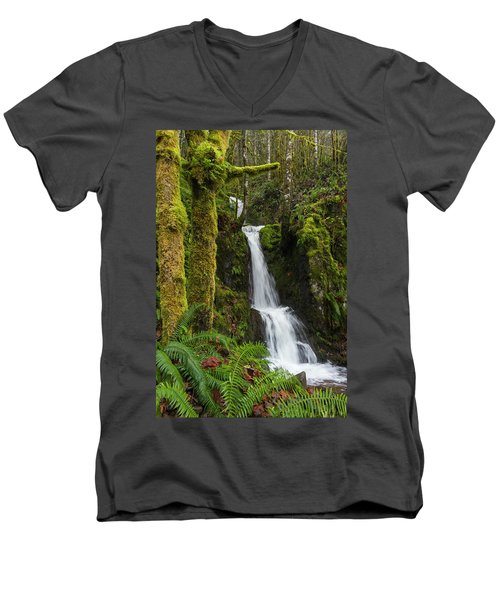 The Water Staircase Men's V-Neck T-Shirt