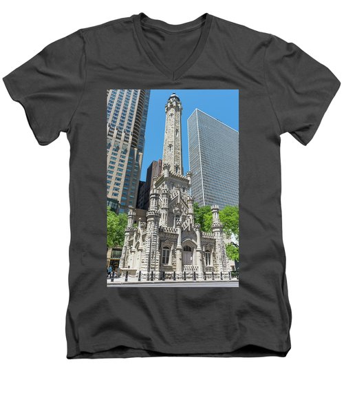 The Water Tower Men's V-Neck T-Shirt