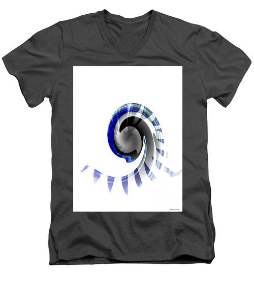 The Wave Men's V-Neck T-Shirt by Thibault Toussaint