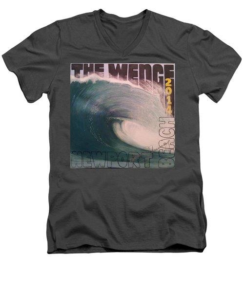 The Wedge 2014 Men's V-Neck T-Shirt