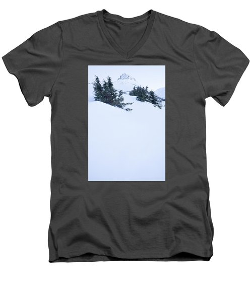 The Wedge In Winter Men's V-Neck T-Shirt