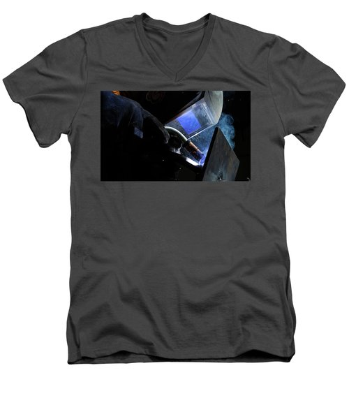 The Welder Men's V-Neck T-Shirt