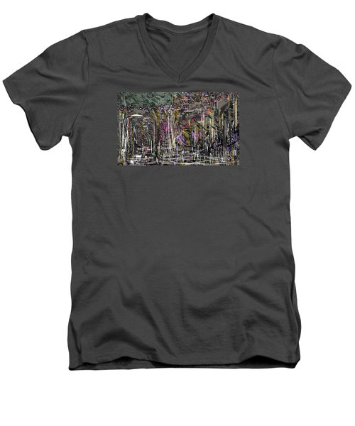 The Whisper Of The Street Men's V-Neck T-Shirt