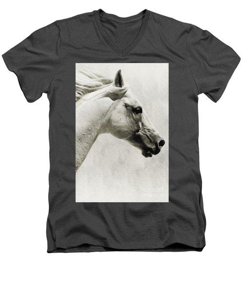 The White Horse IIi - Art Print Men's V-Neck T-Shirt