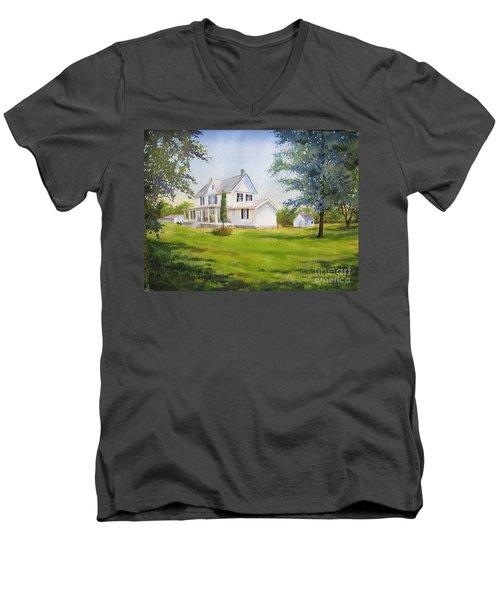 The Whitehouse Men's V-Neck T-Shirt