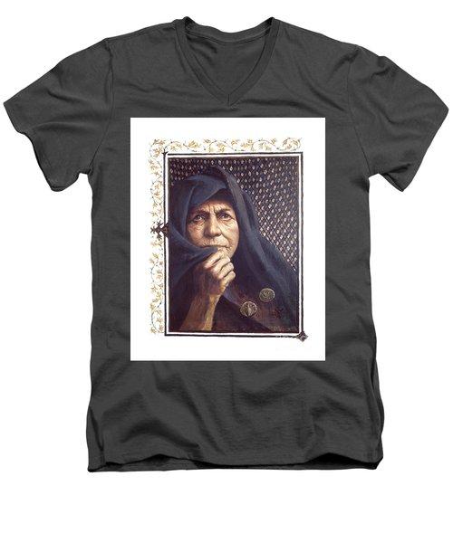 The Widow's Mite - Lgtwm Men's V-Neck T-Shirt