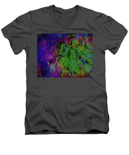 The Wind Men's V-Neck T-Shirt by Kelly Turner