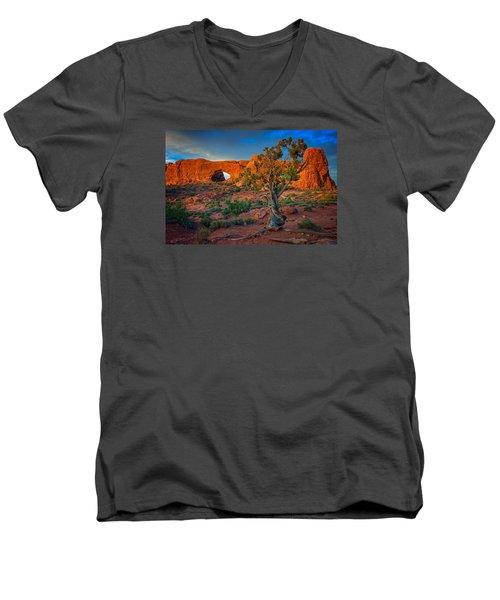 The Windows Men's V-Neck T-Shirt