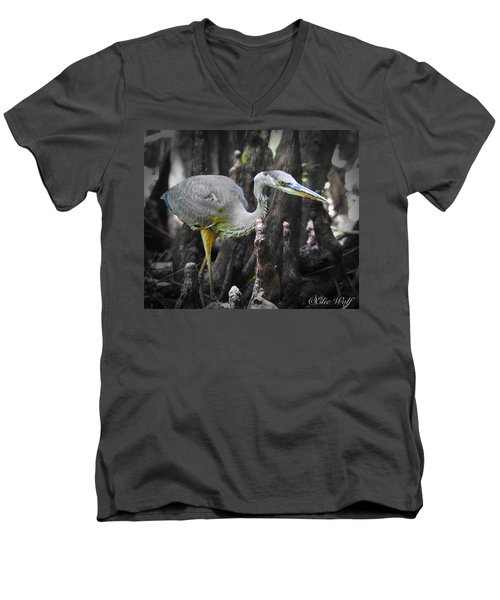 The Winged Stalker Men's V-Neck T-Shirt