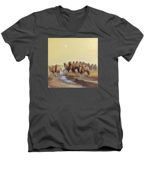 The Winter Of Desert Men's V-Neck T-Shirt