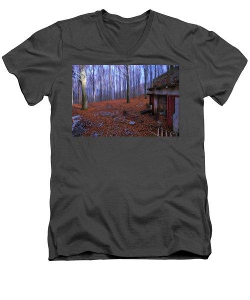 The Wood A La Magritte - Il Bosco A La Magritte Men's V-Neck T-Shirt