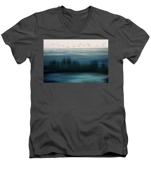 The World As We Know It Men's V-Neck T-Shirt