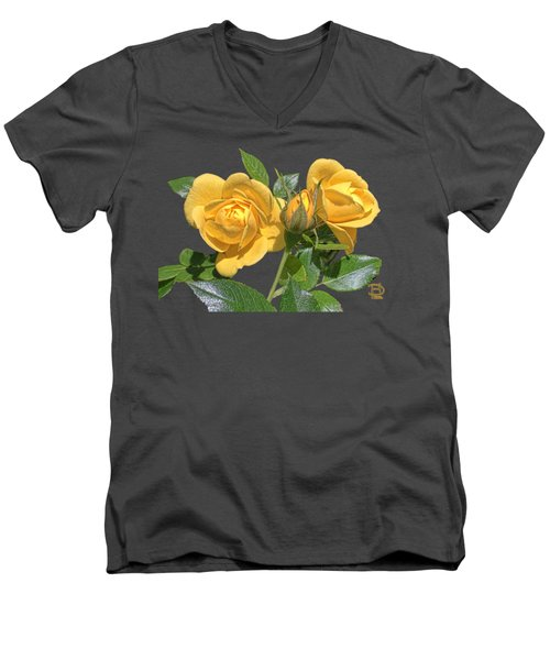 The Yellow Rose Family Men's V-Neck T-Shirt