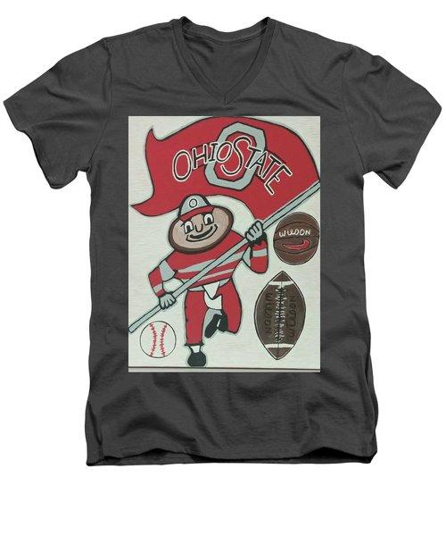 Thee Ohio State Buckeyes Men's V-Neck T-Shirt