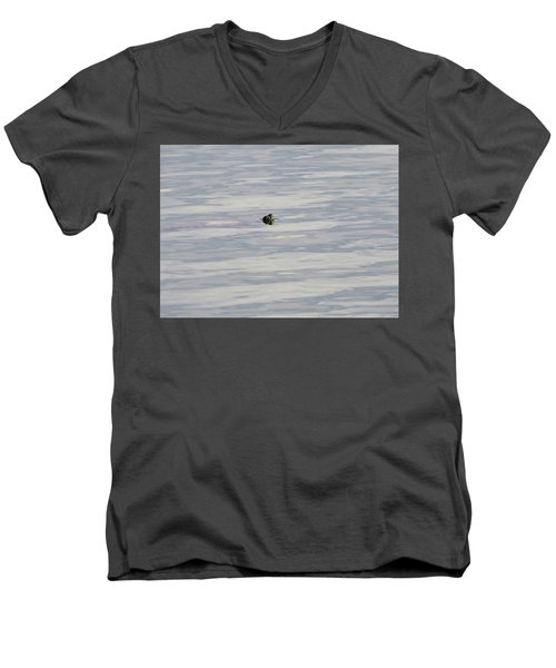 There He Is Men's V-Neck T-Shirt by Laurel Powell