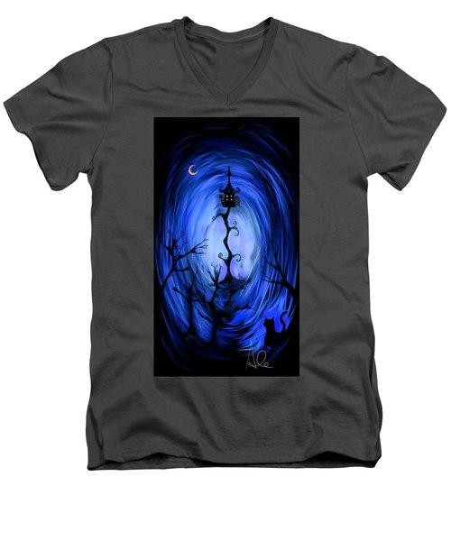 There's A Light Men's V-Neck T-Shirt