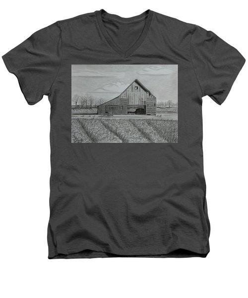 Theresa's Barn Men's V-Neck T-Shirt